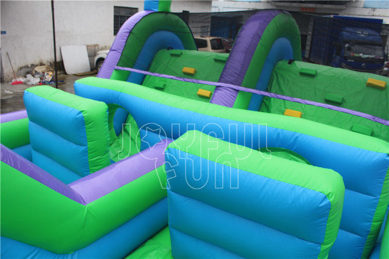 Joyful Fun Supply Inflatable Obstacle Courses to South-east Asia Park Owner