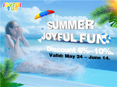Joyful Fun Summer Sales Promotion.