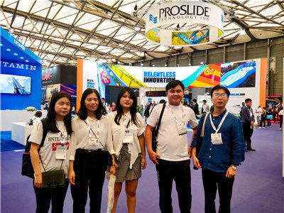 Joyful Fun Inflatables took part in IAAPA Asia 2019 as the visitor.