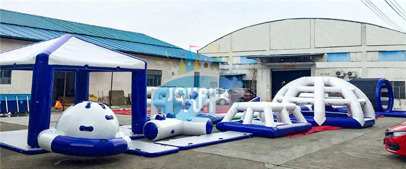 Joyful Fun New Seabeach Inflatable Aqua Park