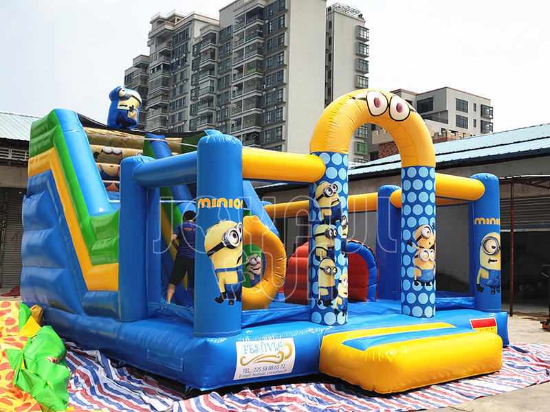 Good Quality Inflatable Cartoon Kids Playground