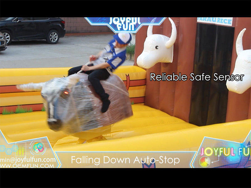 High Quality Safe Inflatable Rodeo Game Mechanical Bull