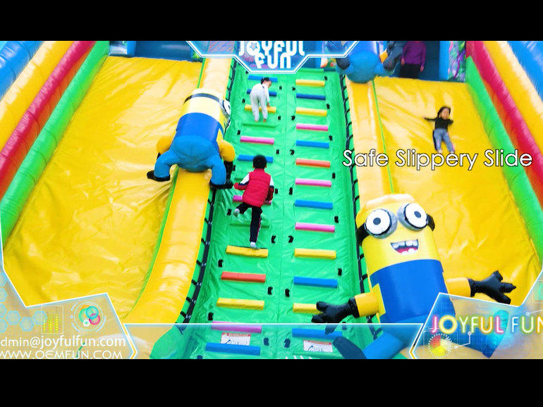 Large Inflatable Minions Playground Fun City