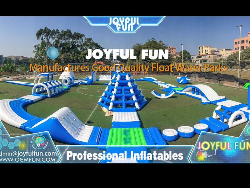 2020 New Big Inflatable Aqua Water Park