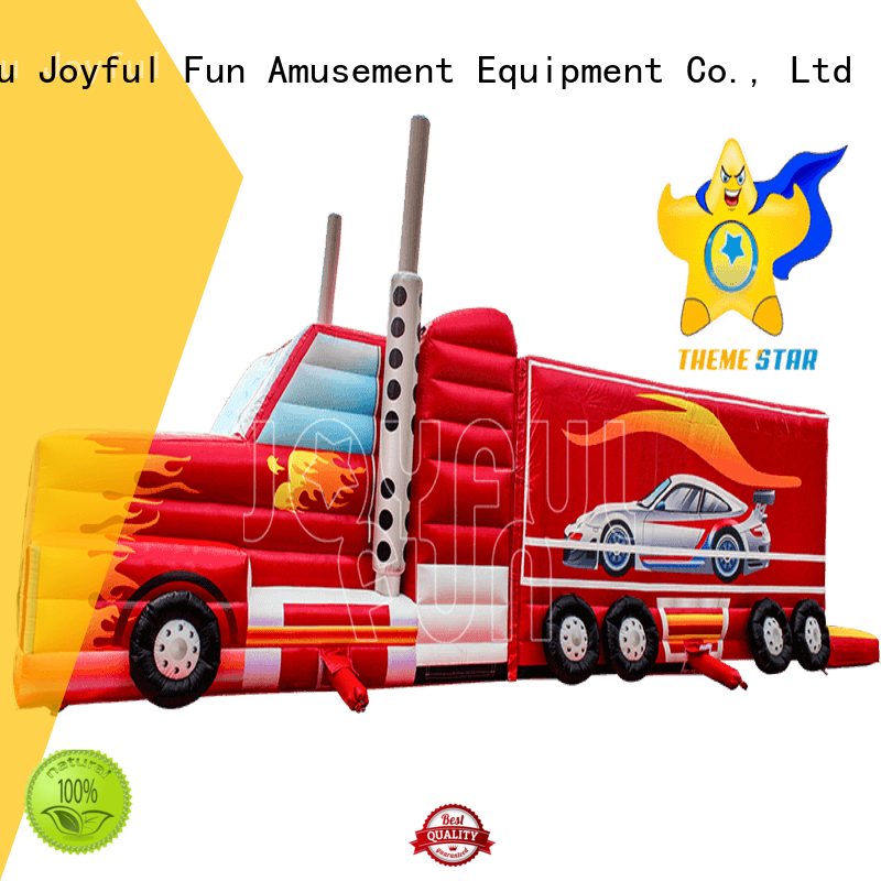 Joyful Fun durable inflatable obstacle course directly sale for kids