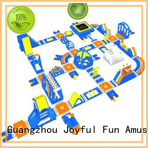 sturdy inflatable water park multi wholesale for outdoor
