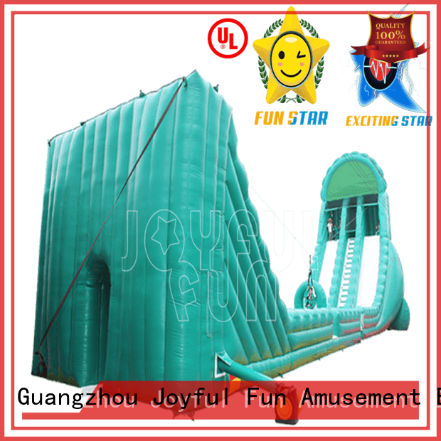 slide professional game hot sale inflatable zip line Joyful Fun