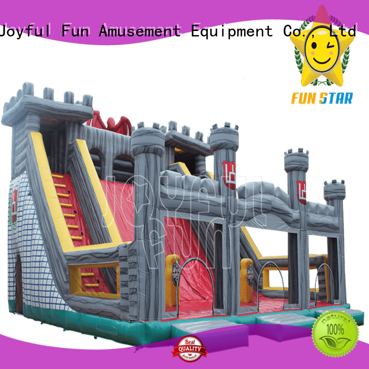 Joyful Fun joyful inflatable fun city factory price for park