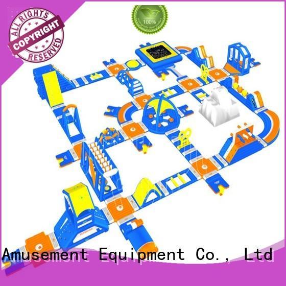 practical inflatable water slide park multi manufacturer for park
