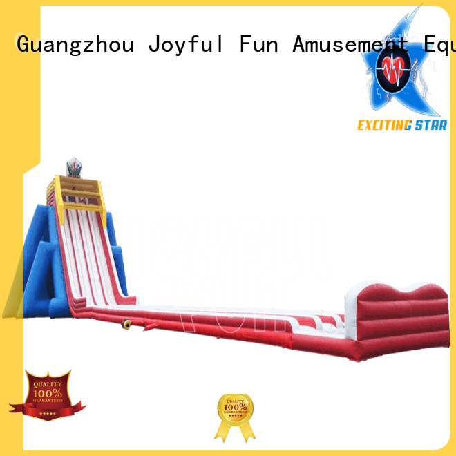 Joyful Fun lanes hippo water slide supplier for lake
