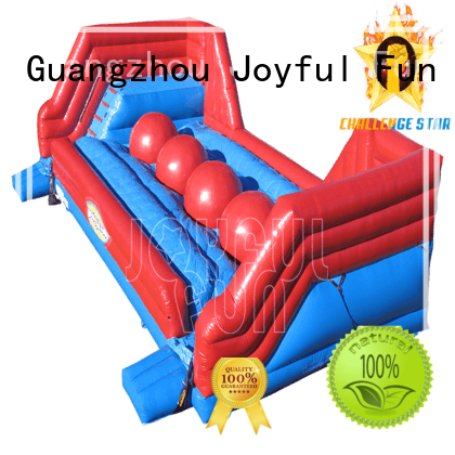 Quality Joyful Fun Brand outdoor inflatable games for adults light top selling