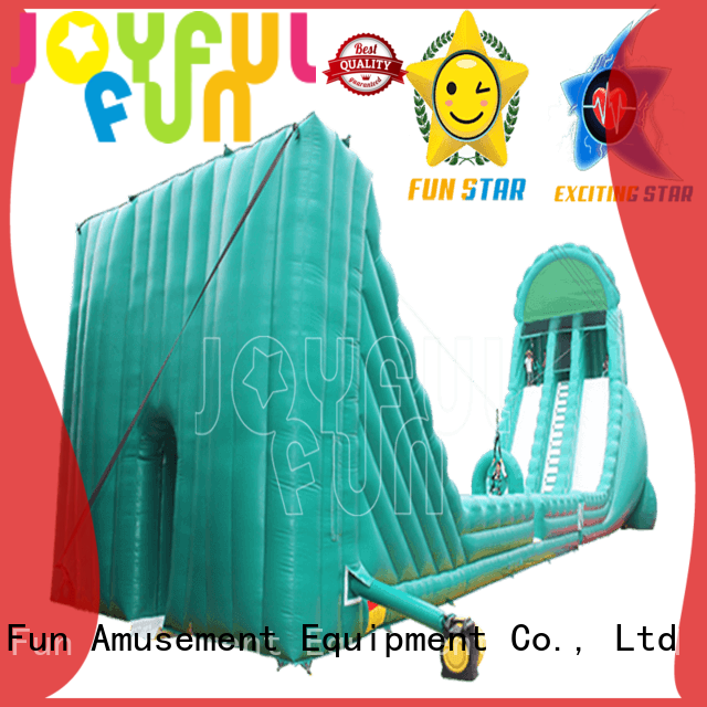 Joyful Fun Brand high quality popular inflatable zip line for sale new