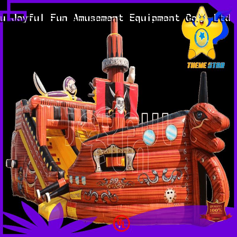 Joyful Fun highend custom inflatables manufacturer personalized for children