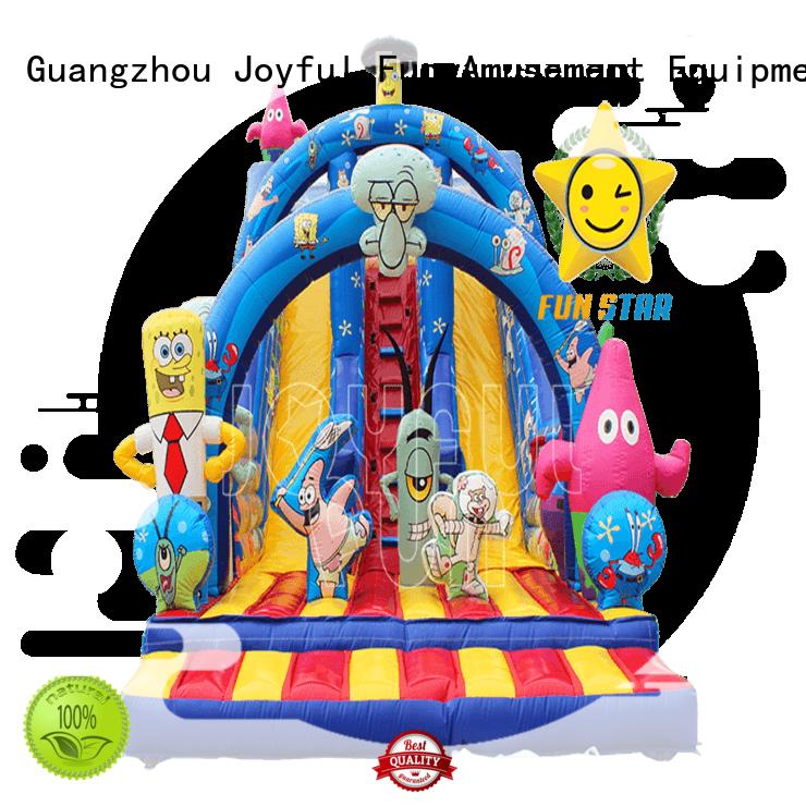 Joyful Fun large inflatable slide supplier manufacturer for children