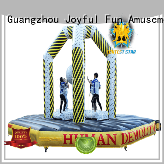 Joyful Fun court inflatable ball game factory price for kids