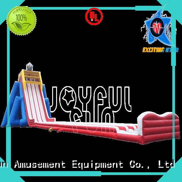 Joyful Fun slips giant inflatable water slide personalized for children