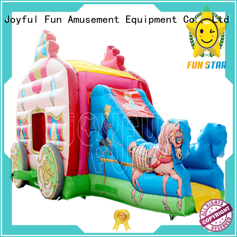 Joyful Fun slide inflatable combo with good price for children
