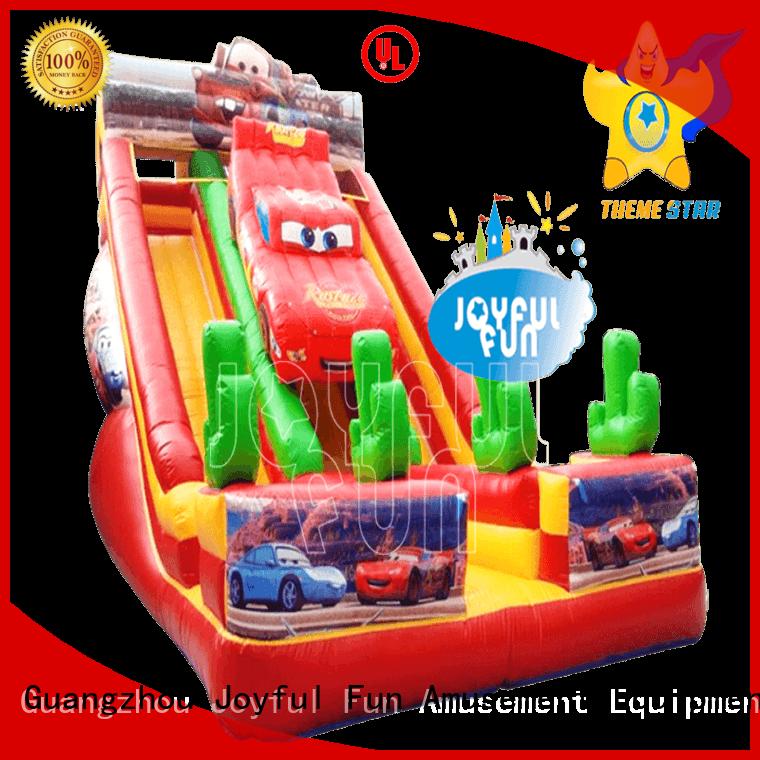 Joyful Fun inflatable slide manufacturer customized for outdoor
