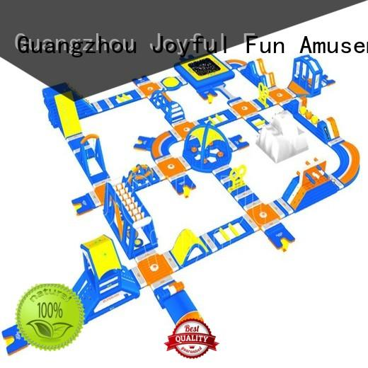 sturdy giant inflatable water park multi supplier for kids