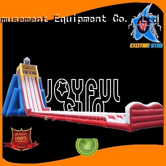 Joyful Fun quality hippo water slide supplier for children