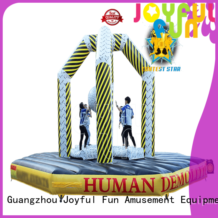 Joyful Fun trampoline inflatable ball game wholesale for outdoor