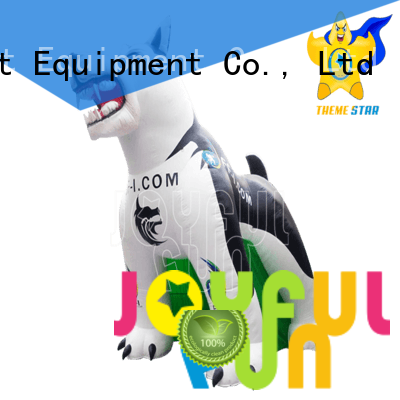 Joyful Fun huskie inflatable model from China for outdoor