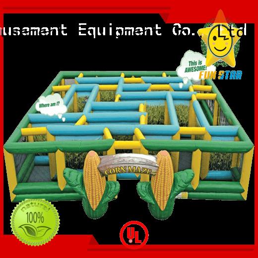 Joyful Fun maze inflatable maze factory for kids