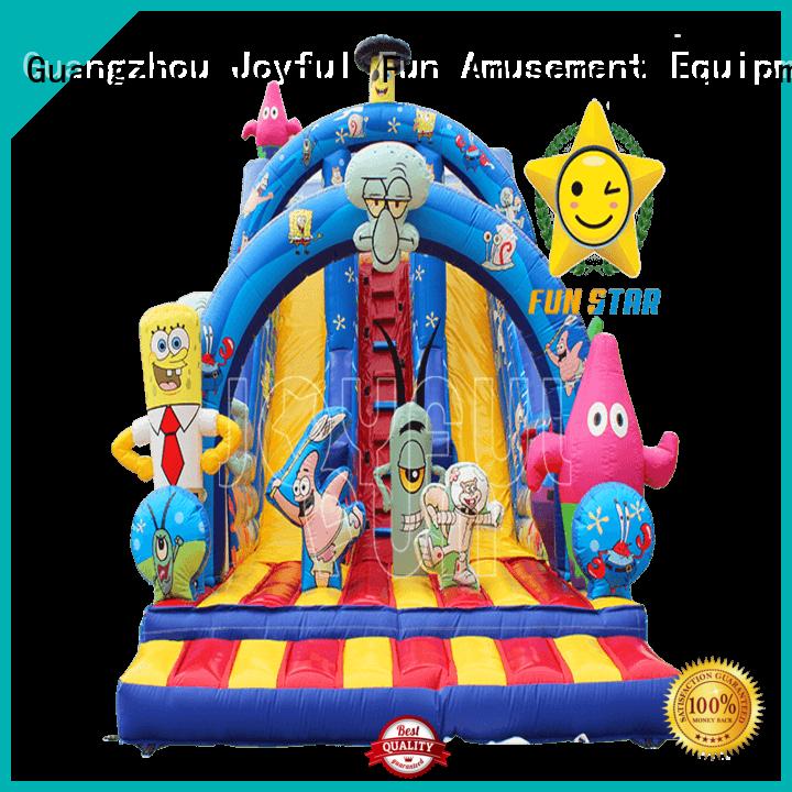 Joyful Fun joyful inflatable dry slide from China for lake