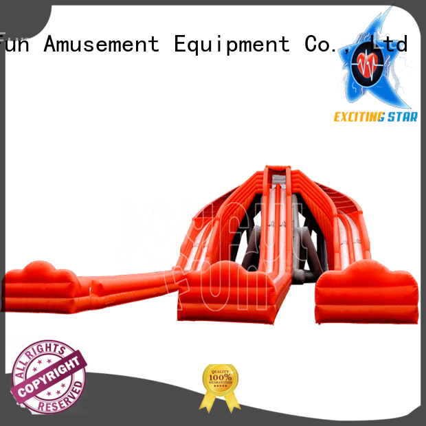 Joyful Fun lanes hippo water slide personalized for lake