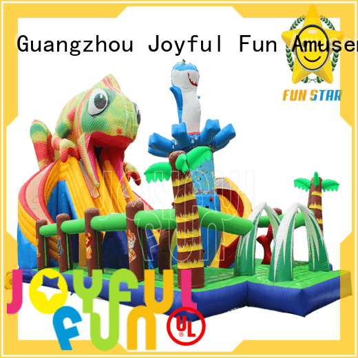 stable giant inflatable playground jungle wholesale for lake